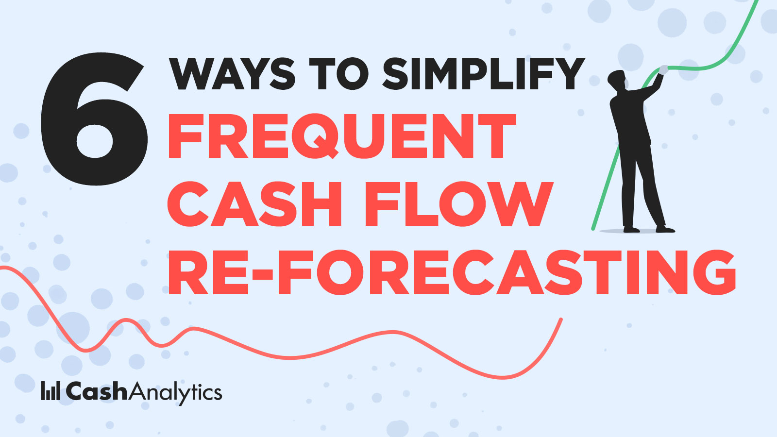 frequent cash flow re-forecasting