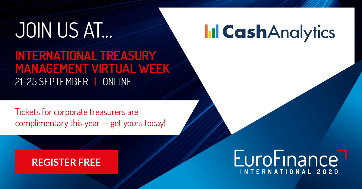 Image for CashAnalytics at the EuroFinance International Treasury Management Week